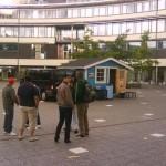 Kampanj vid Södertörns hogskola