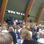 Debatten på Täby Enskilda gymnasium