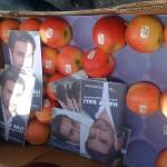 Bjussade på äpplen vid Polishögskolan